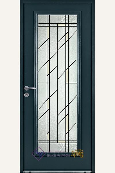 Porte entrée en option Aphrodite