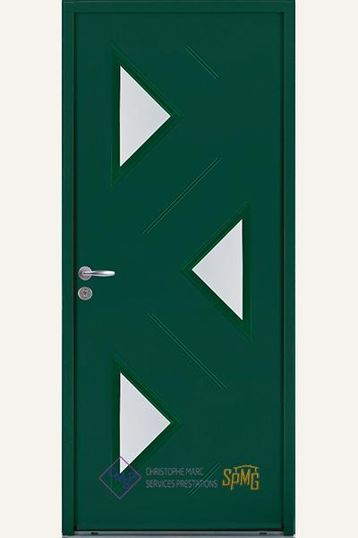 Porte entrée en option Comoe