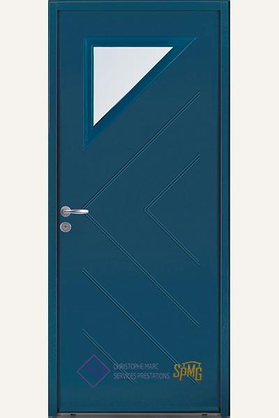 Porte entrée en option Delos