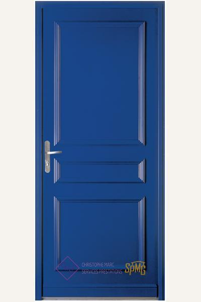Porte entrée acier option Neptune
