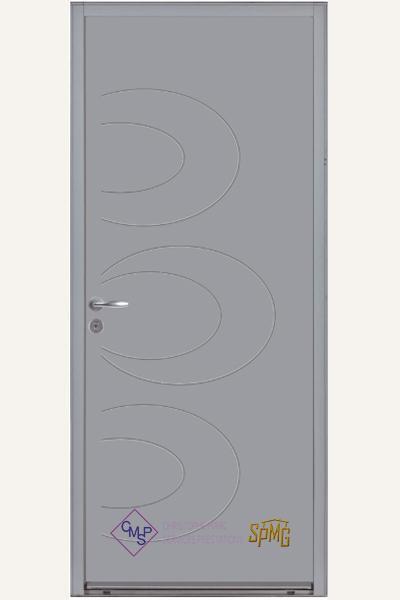 Porte entrée acier option Leona