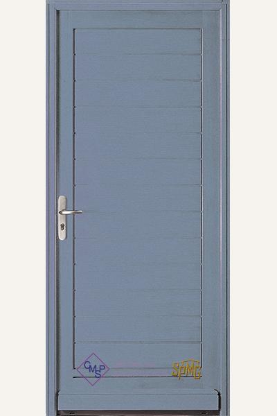 Porte entrée bois option Etel