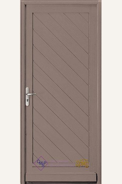 Porte entrée bois option Odet