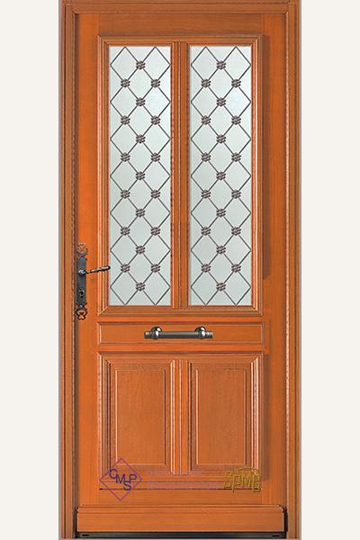 Porte entrée vitrée Beaulieu 2