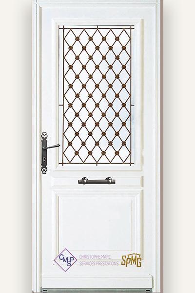 Porte entrée vitrée Cheverny 2