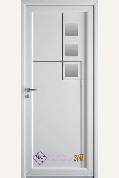 Porte entrée PVC Elite