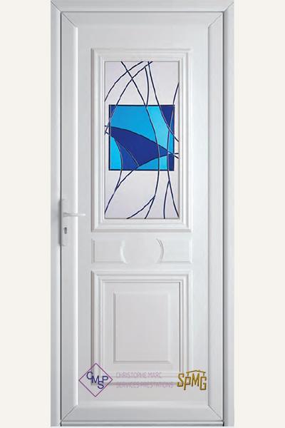Porte entré PVC Emy