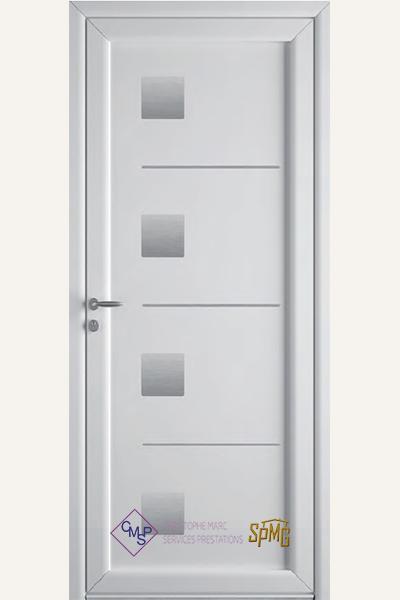 Porte entrée PVC Folio