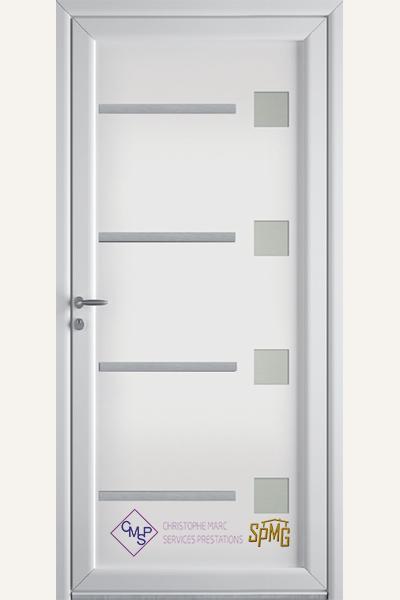 Porte entrée PVC Groix